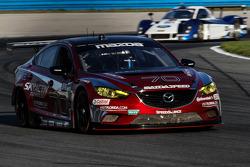#70 Mazdaspeed Speedsource Mazda6 GX: Jonathan Bomarito, Marino Franchitti, James Hinchcliffe, Sylvain Tremblay