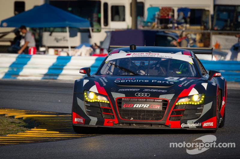 #51 Audi Sport Customer Racing/APR Motorsport Audi R8 Grand-Am: Matt Bell, John Farano, Alex Figge, Dave Lacey, David Empringham
