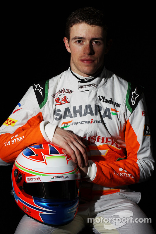 Paul di Resta, Sahara Force India F1 Team