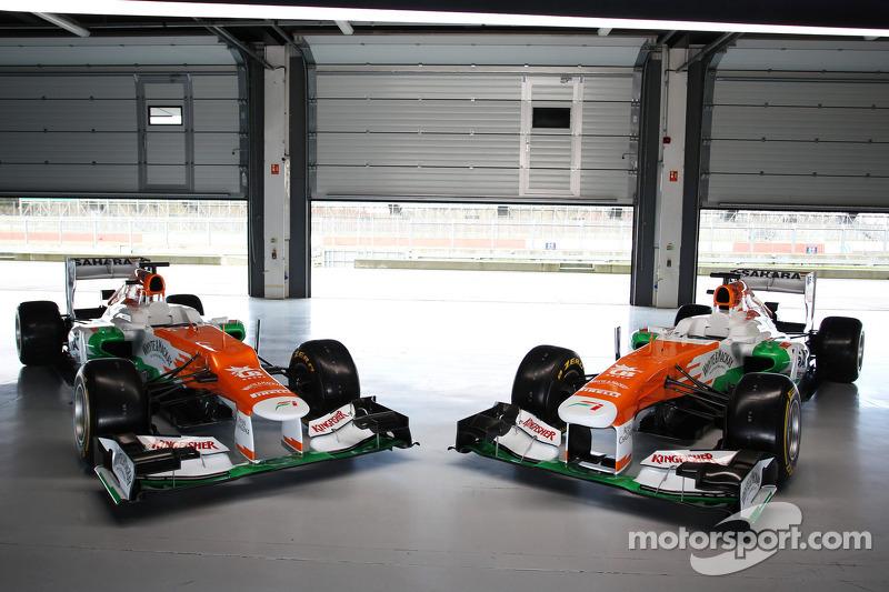 The Sahara Force India VJM06