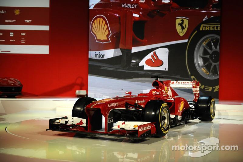 The 2013 Ferrari F138
