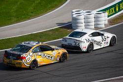 #55 Multimatic Motorsports Aston Martin Vantage: Jade Buford, Scott Maxwell e #45 Fall-Line Motorsports BMW M3 Coupe: Al Carter, Hugh Plumb