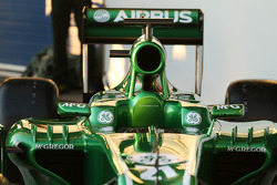 Caterham CT03 cockpit detail