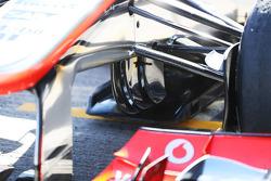 Sergio Perez, McLaren MP4-28 detail