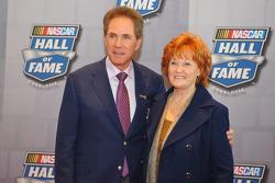 Darrell Waltrip mit Ehefrau Stevie