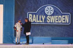 Себастьен Ожье. Ралли Швеция, секция 3.