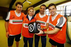 Loic Duval, Rahel Frey, Marc Gene e Miguel Molina