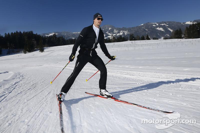 Оливер Джарвис. Зимний лагерь Audi, особое событие.