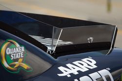 Rear spoiler detail for Jeff Gordon, Hendrick Motorsports Chevrolet