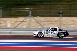 #5 CJ Wilson Racing Mazda MX-5: Stevan McAleer, Marc Miller