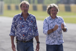 Jeremy Clarkson en James May