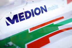 Sahara Force India F1 VJM06 Medion branding