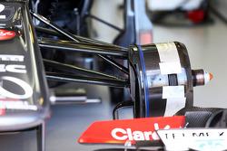 Sauber C32 brake