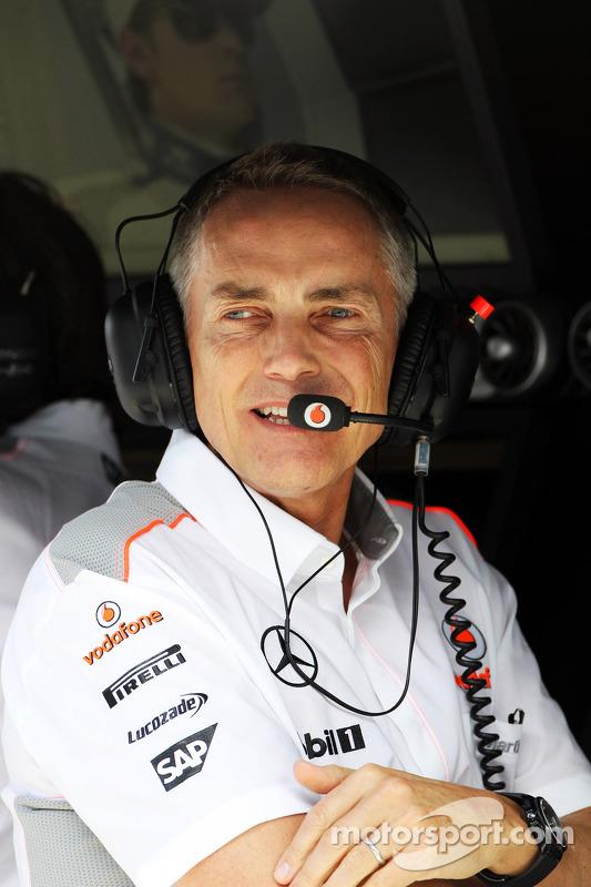 Martin Whitmarsh, McLaren Chief Executive Officer