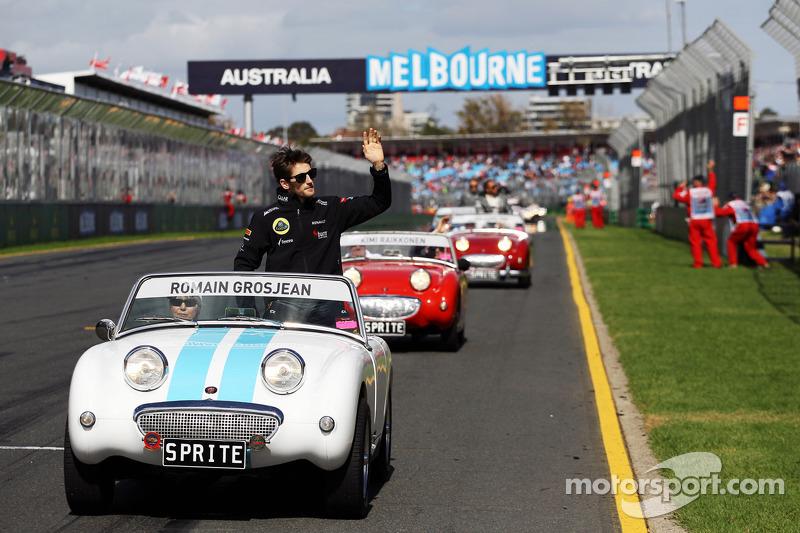 Ромен Грожан. ГП Австралии, Воскресенье, перед гонкой.