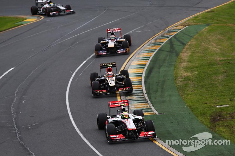 Серхио Перес. ГП Австралии, Воскресная гонка.