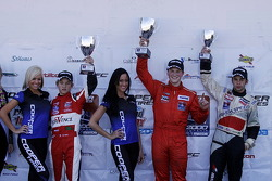 Winners podium
