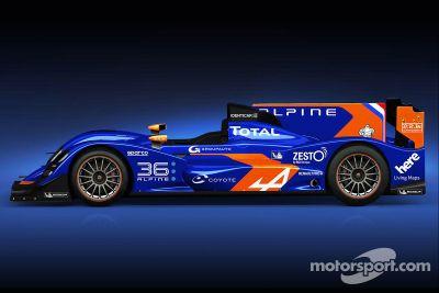 Signatech-Alpine LMP2 launch