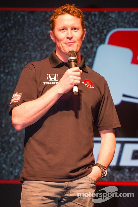 Apresentação de pilotos: Scott Dixon, Target Chip Ganassi Racing de Honda