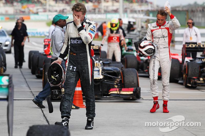 Nico Hulkenberg, Sauber in parc ferme