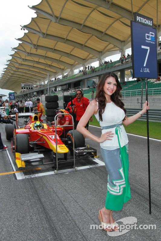 Amáveis grid girls