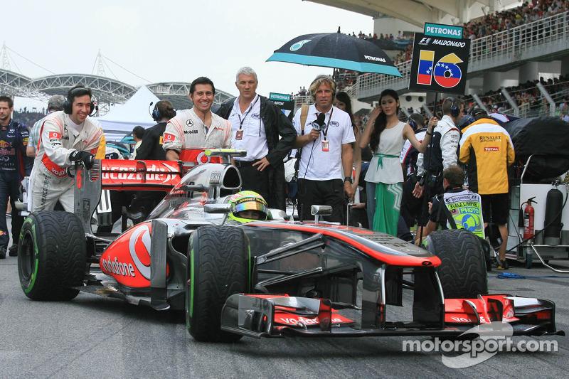 Серхио Перес. ГП Малайзии, Воскресенье, перед гонкой.