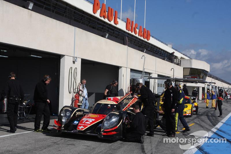 #12 Rebellion Racing Lola B12/60 Coupé - Toyota: Nicolas Prost, Neel Jani