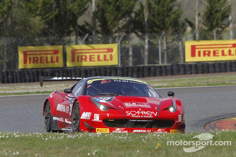 #30 SOFREV Auto Sport Promotion Ferrari 458 Italia: Soheil Ayari, Jean-Luc Beaubelique