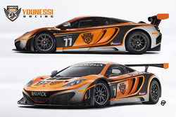 The MRS McLaren MP4-12C GT3