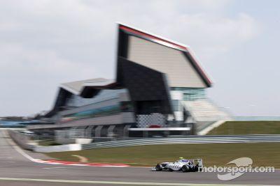 Testes de abril em Silverstone
