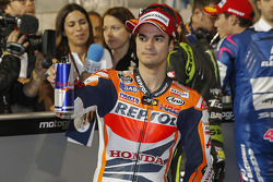 Third place qualifier Dani Pedrosa