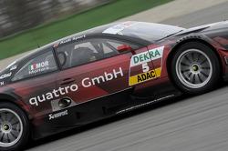 Edoardo Mortara, Audi Sport Team Rosberg, Audi RS 5 DTM; Mike Rockenfeller, Audi Sport Team Phoenix