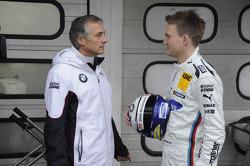 Charly Lamm Teammanager BMW Team Schnitzer, Dirk Werner, BMW Team Schnitzer