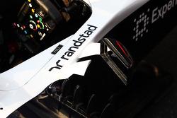 Williams FW35 cockpit detail