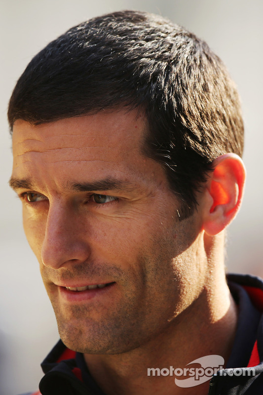 Mark Webber, Red Bull Racing com novo corte de cabelo