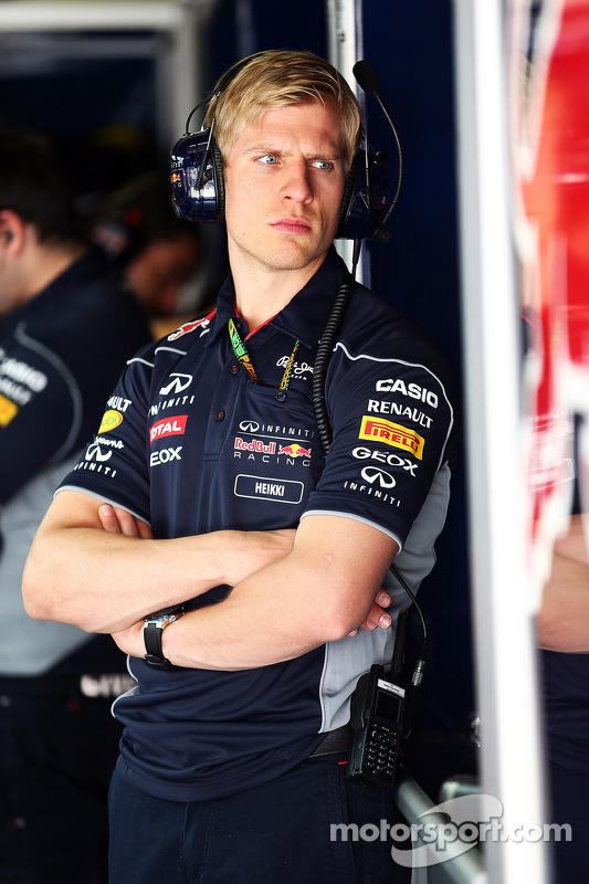 Heikki Huovinen, Personal Trainer do Sebastian Vettel, Red Bull Racing