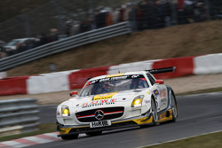 Michael Zehe, Marko Hartung, Mark Bullitt, Reinhold Renger, ROWE RACING, Mercedes-Benz SLS AMG GT3