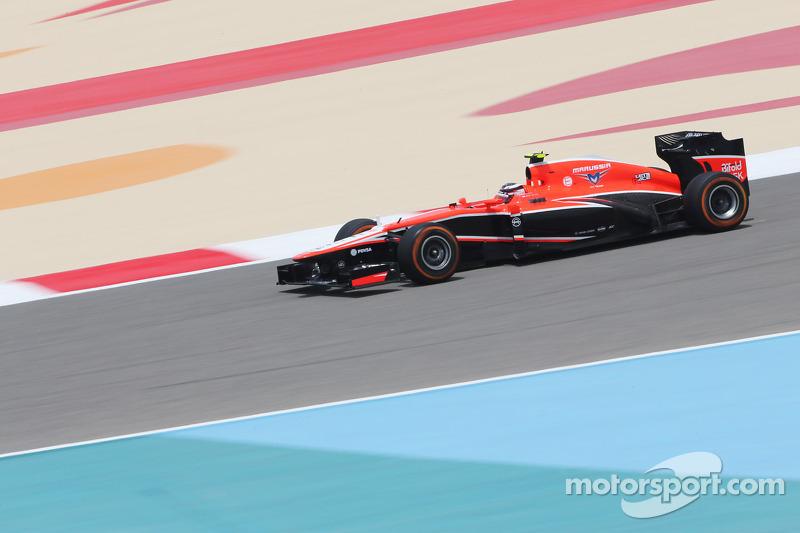 Макс Чилтон. ГП Бахрейна, Первая пятничная тренировка.
