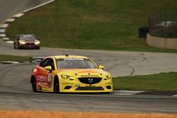 #00 Visit Florida Racing/Speedsource Mazda6 GX: Joel Miller, Andrew Carbonell