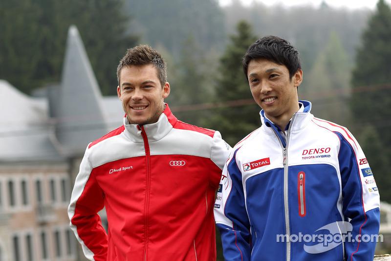 Andre Lotterer en Kazuki Nakajima