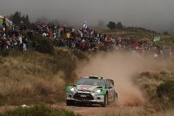 Daniel Oliveira, Carlos Magalhaes, Ford Fiesta WRC
