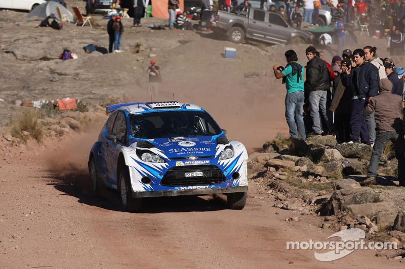 Abdulaziz Al Kuwari en Killian Duffy, Ford Fiesta