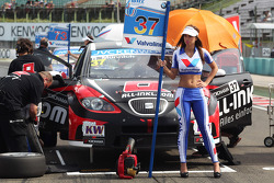 René Münnich, SEAT Leon WTCC, Münnich Motorsport and Grid Girl