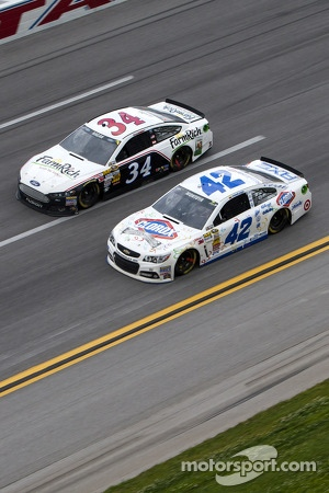 David Ragan and Juan Pablo Montoya