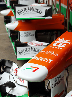 Sahara Force India F1 bicos