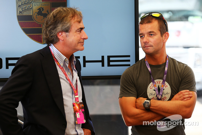 Carlos Sainz, with Sebastien Loeb