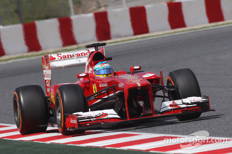 2013: Fernando Alonso, Ferrari F138