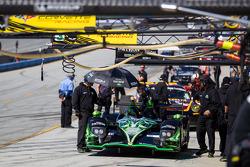 Pit lane before qualifying