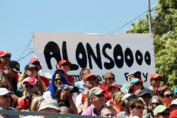 Fernando Alonso, Ferrari fans