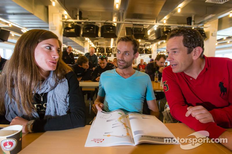 Cyndie Allemann, Sven Hannawald en Thorsten Drewes